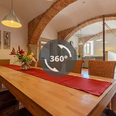 Virtueller Rundgang Ferienhaus Luise